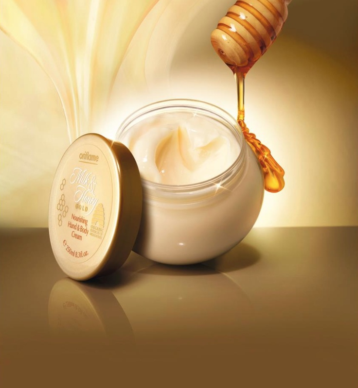 creme oriflame milk anh honey