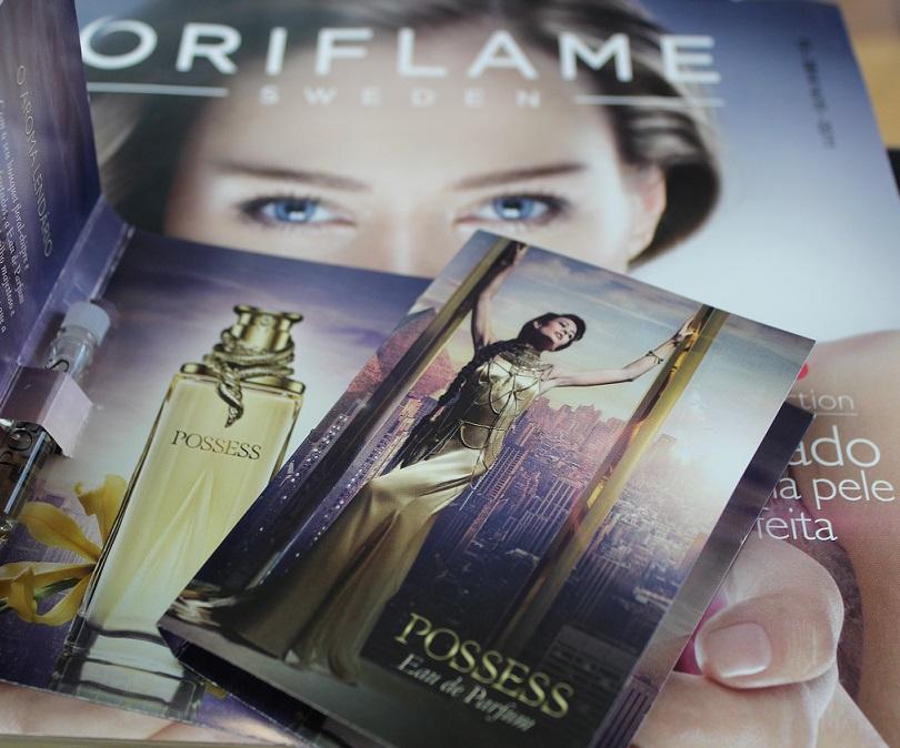 amostras de perfumes oriflame