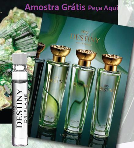 oriflame amostra de perfume gratis